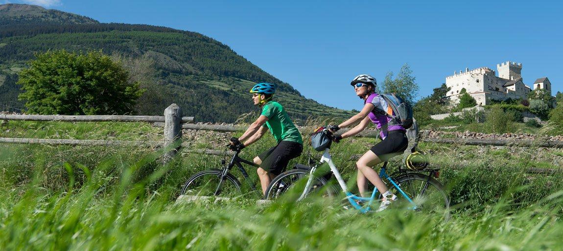 Vacanza in bici in Alto Adige