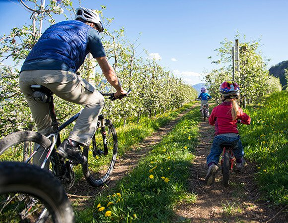 vacanza in bici in val venosta