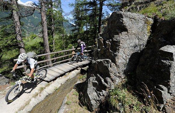 Infrastrutture perfette per una vacanza in bicicletta